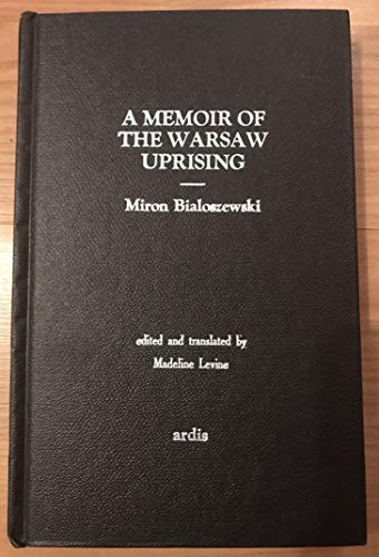 9780882332758: A memoir of the Warsaw uprising