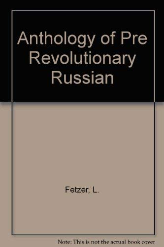 9780882335957: Pre Revolutionary Russian Science Fiction: An Anthology (Seven Utopias and a Dream)