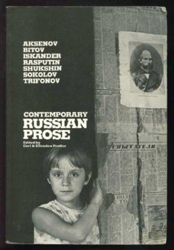Contemporary Russian Prose Vasily Aksenov; Vasily Shukshin;: Contemporary Russian Prose