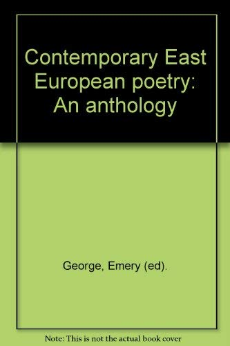 9780882337470: Title: Contemporary East European poetry An anthology