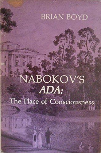 9780882339061: Nabokov's Ada: The place of consciousness