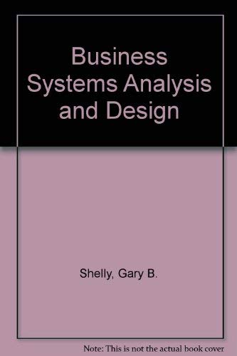 9780882360430: Business Systems Analysis and Design