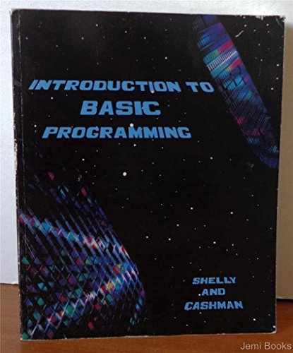 9780882361185: Introduction to Basic Programming