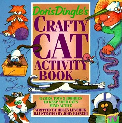 9780882404158: Doris Dingle's Crafty Cat Activity Book: Games, Toys and Hobbies to Keep Your Cat's Mind Active