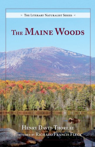 9780882409597: The Maine Woods (The Literary Naturalist Series)