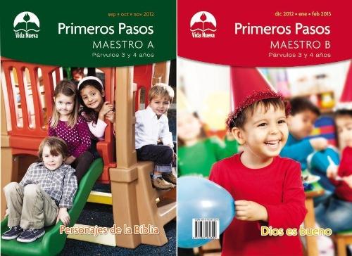 9780882432540: Párvulos: Primeros pasos maestro, septiembre-febrero (Spanish Edition)