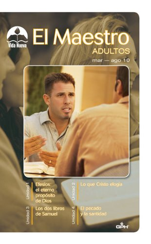 El Maestro Mar-Ago/ The Adult Teacher Mar-Aug (Spanish Edition) (9780882433554) by Zondervan