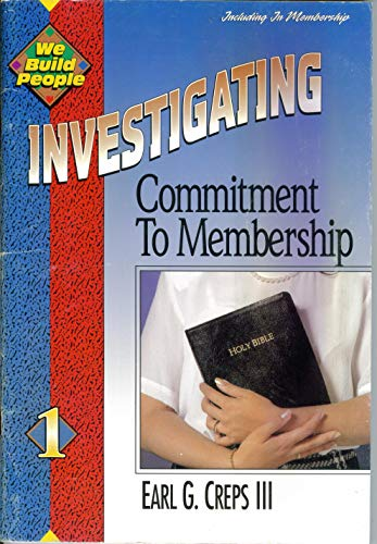 9780882434155: Investigating Commitment to Membership