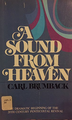 A Sound from Heaven: Brumback, Carl