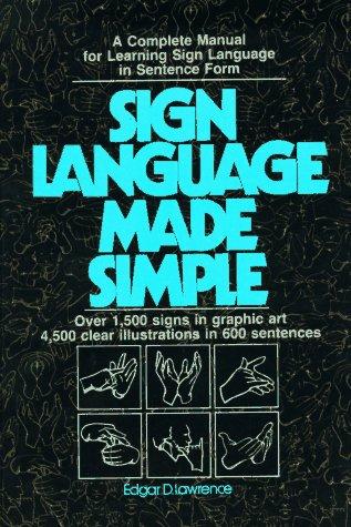 9780882436043: Sign Language Made Simple