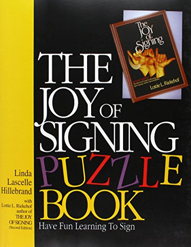 9780882436760: The Joy of Signing Puzzle Book