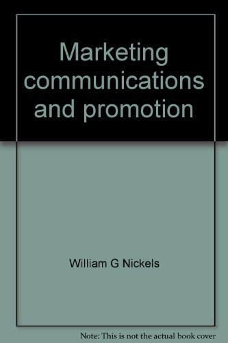 9780882440934: Marketing communications and promotion