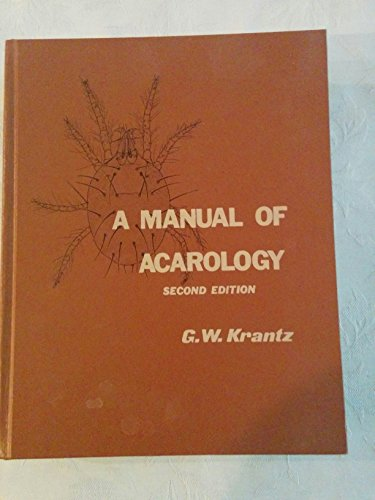 9780882460642: Manual of Acarology