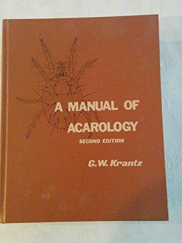 9780882460642: Manual of Acarology