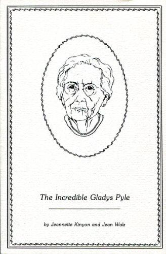The Incredible Gladys Pyle: Jeannette Kinyon; Jean