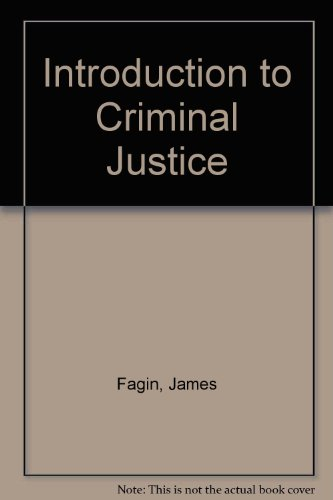 9780882521275: Introduction to Criminal Justice