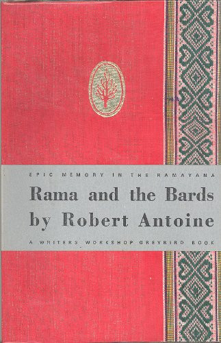 Stock image for RAMA AND THE BARDS: EPIC MEMORY IN THE RAMAYANA for sale by PERIPLUS LINE LLC