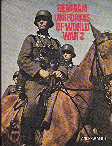 German uniforms of World War 2 (0882544020) by Andrew Mollo
