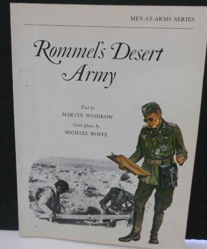 9780882544267: Rommel's desert army (Men-at-arms series)