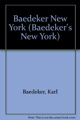 9780882548593: Baedeker New York (Baedeker's New York)