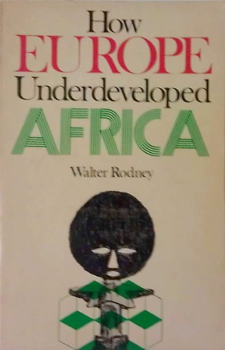 9780882580135: How Europe Underdeveloped Africa