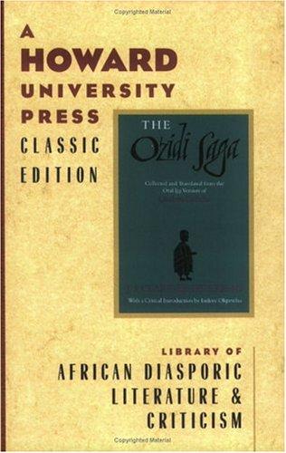 9780882581088: The Ozidi Saga (English, Ijo Languages and Ijo Languages Edition)