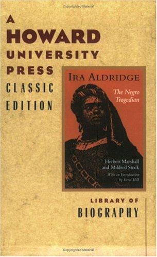 9780882581507: IRA Aldridge: Negro Tragedian
