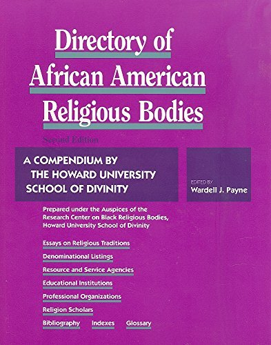 9780882581859: Directory of African American Religious Bodies: A Compendium by the Howard University School of Divinity