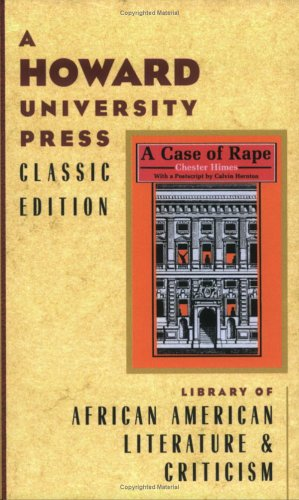 9780882582153: A Case of Rape (A Howard University Press Classic Edition)