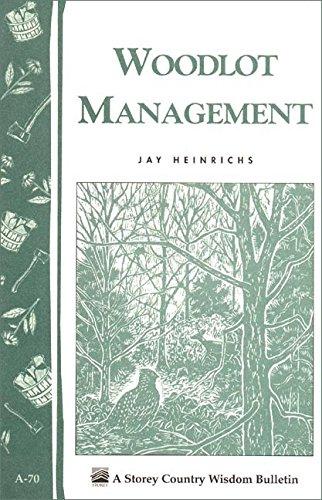 9780882662848: Woodlot Management: Storey/Garden Way Publishing Bulletin A-70