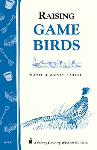 2 book lot: Raising Game Birds AND Backyard Livestock: Raising Good Natural Food for Your Family ...