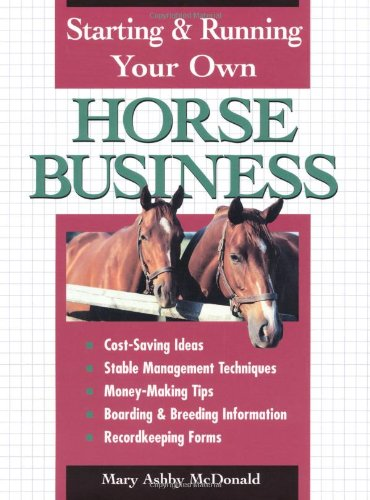 9780882669601: Starting & Running Your Own Horse Business