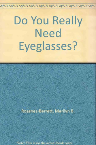 9780882681078: Do You Really Need Eyeglasses?