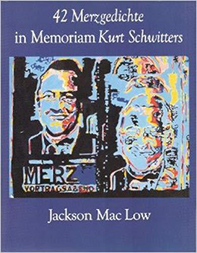 9780882681450: 42 Merzgedichte (February 1987-September 1989)