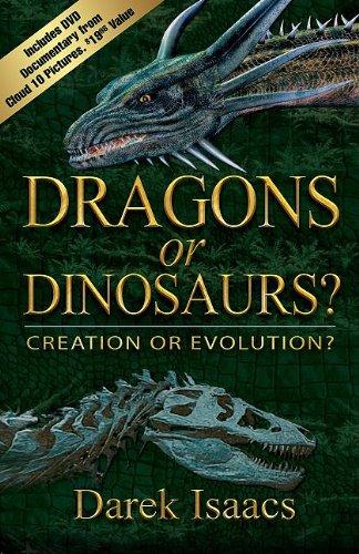 Dragons or Dinosaurs?Book/DVD Combo : Creation or Evolution?: Darek Isaacs