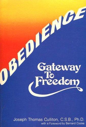 9780882703527: Obedience: Gateway to freedom