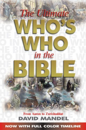 9780882703725: Ultimate Whos Who In The Bible (w/CD)