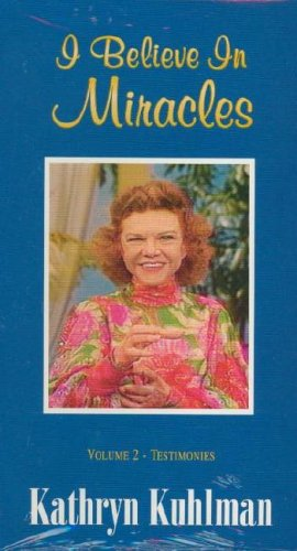9780882707471: I Believe in Miracles, Vol 2, Kathryn Kuhlman & Guests with Healing Testimonies [VHS]