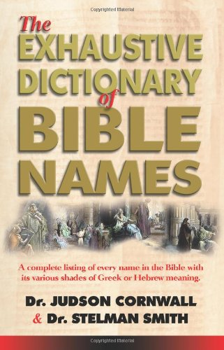 9780882707518: Exhaustive Bible Names Dictionary