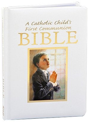Catholic Child's First Communion Gift Bible-NAB-Boy (Regina Press) (9780882712192) by Victor Fr Hoagland; Rev Victor Hoagland