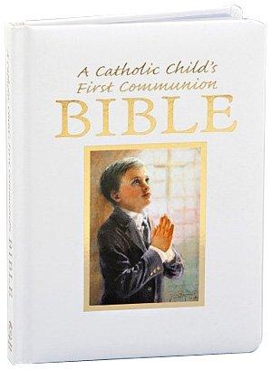 9780882712192: Catholic Child's First Communion Gift Bible-NAB-Boy (Regina Press)
