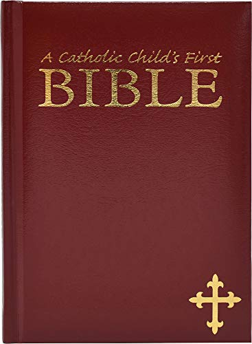 9780882712512: My First Bible/Catholic Gift Edition/Burgundy