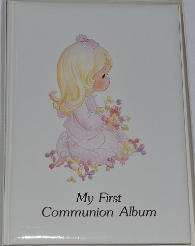 9780882712796: Precious Moments: My First Communion Album/Girls