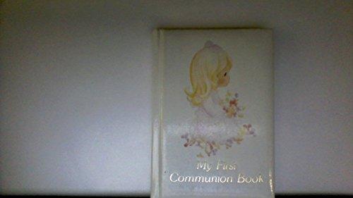 9780882712819: Precious Moments My First Communion Book/Boys