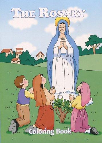 9780882713519: The Rosary Coloring Book (Regina Press #1220-1)