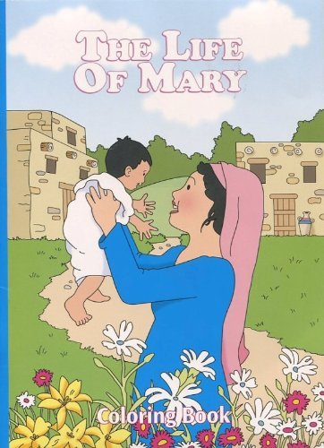 9780882713557: The Life of Mary Coloring Book