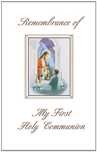 9780882716121: Remembrance of My First Holy Communion Album Boy