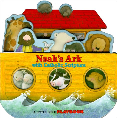 9780882716817: Noah's Ark: With Catholic Scripture (Little Bible Playbooks)