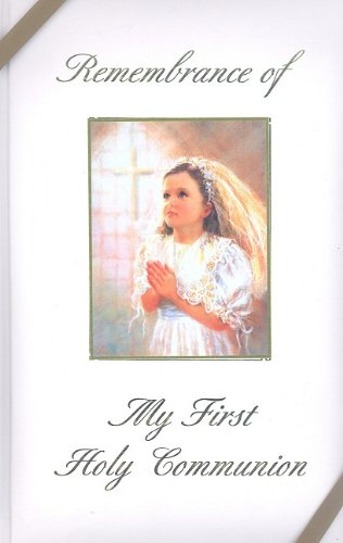 9780882717814: Remembrance of My First Holy Communion-Girl