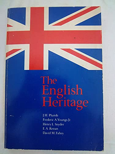 Beispielbild für The English Heritage (The Forum series) zum Verkauf von HPB Inc.